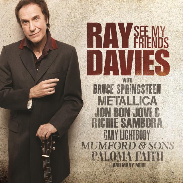 Skivomslag för Ray Davies: See My Friends
