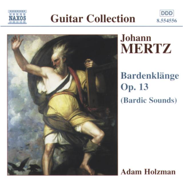 Artwork for Bardenklange, Op. 13: Unruhe (Restlessness) by Johann Kaspar Mertz