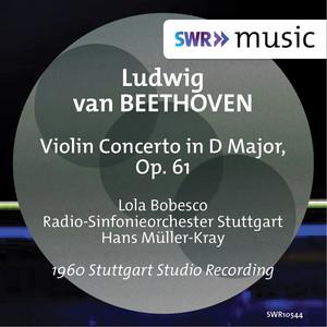 Beethoven: Violin Concerto, Op. 61 Albümü