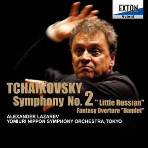 Tchaikovsky: Symphony No. 2 Little Russian, Fantasy Overture Hamlet Albumcover