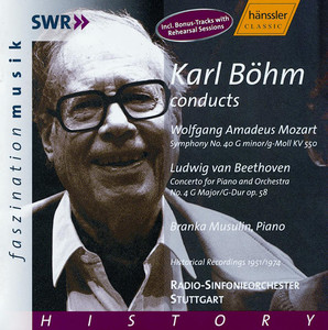 Mozart: Symphony No. 40 / Beethoven: Piano Concerto No. 4 Albumcover