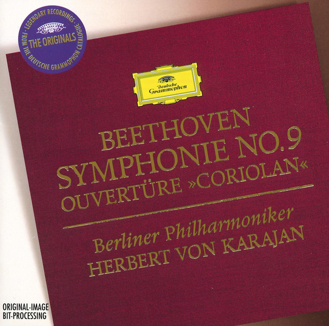 "Beethoven: Symphony No.9; Overture ""Coriolan"""