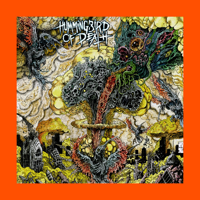 Album cover for Forbidden Techniques by Hummingbird of Death