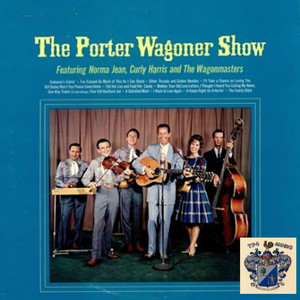 Norma Jean, Curly Harris, The Wagonmasters Company's Comin' cover