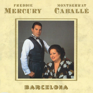 Freddie Mercury, Montserrat Caballé Overture Piccante cover