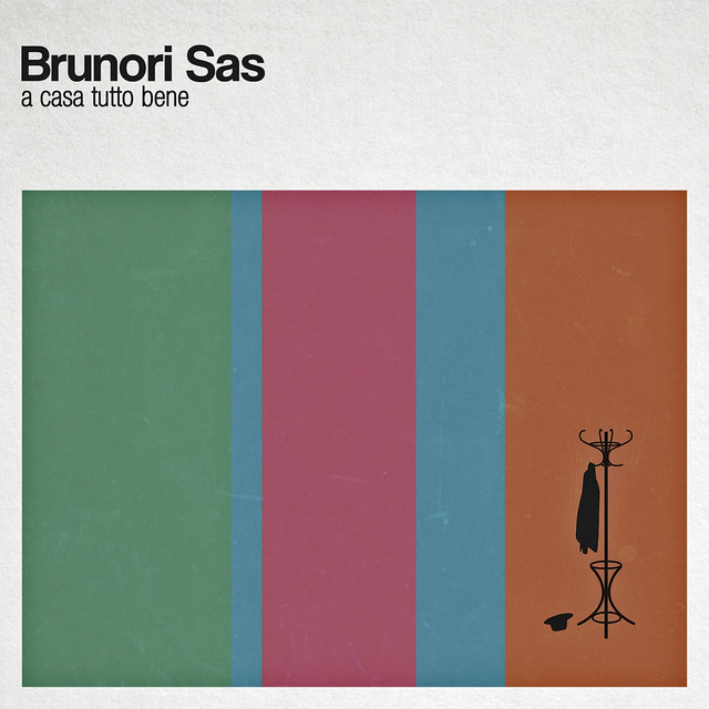 Album cover for A casa tutto bene by Brunori Sas