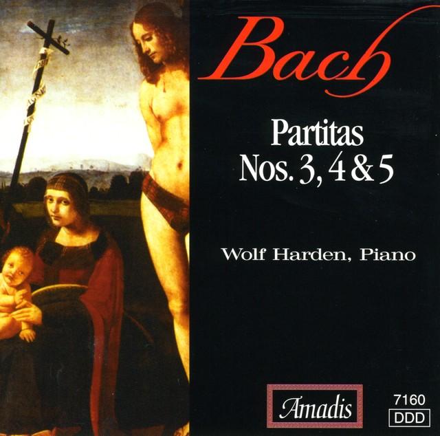 Bach, J.S.: Keyboard Partitas Nos. 3-5 Albumcover