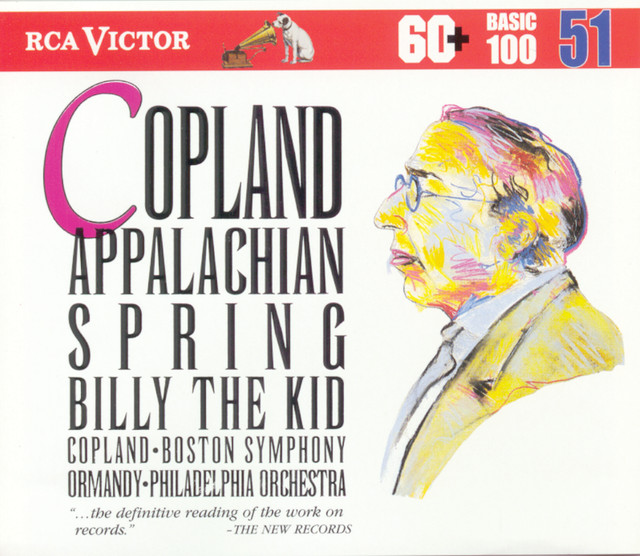 Copland: Appalachian Spring / Billy The Kid Albumcover