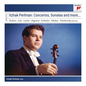 Itzhak Perlman plays Concertos and Sonatas Albumcover