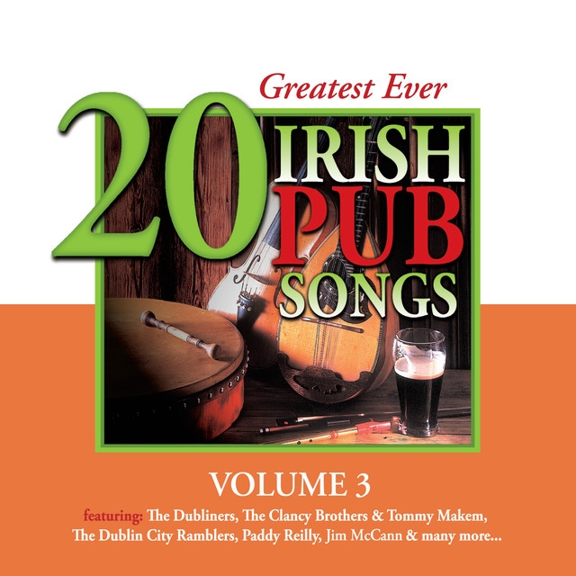 Various Artists 20 Greatest Ever Irish Pub Songs, Vol. 3 album cover