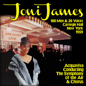 Joni James, Acquaviva, The Symphony Of The Air & Chorus There Goes My Heart cover