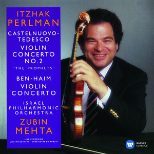 Castelnuovo-Tedesco & Ben-Haim: Violin Concertos Albumcover