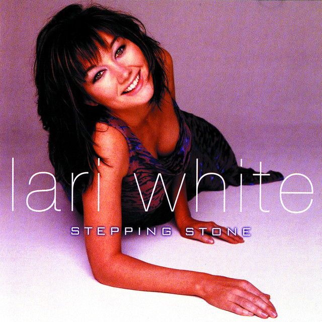 Lari White Stepping Stone album cover