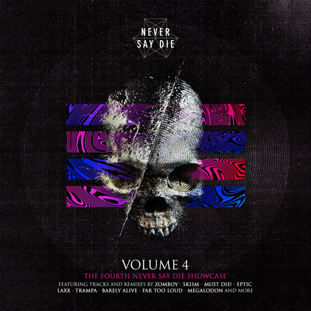 Album cover for Never Say Die Vol. 4 by Various Artists