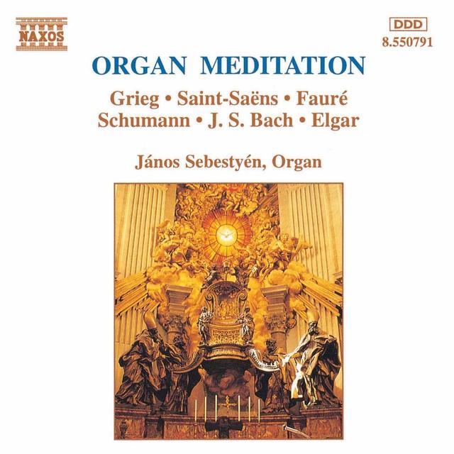 Organ Meditation Albumcover