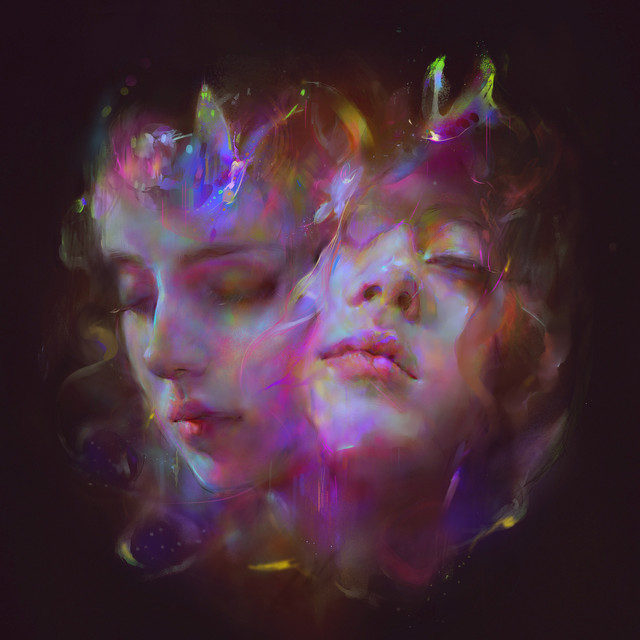 Album cover for I'm All Ears by Let's Eat Grandma