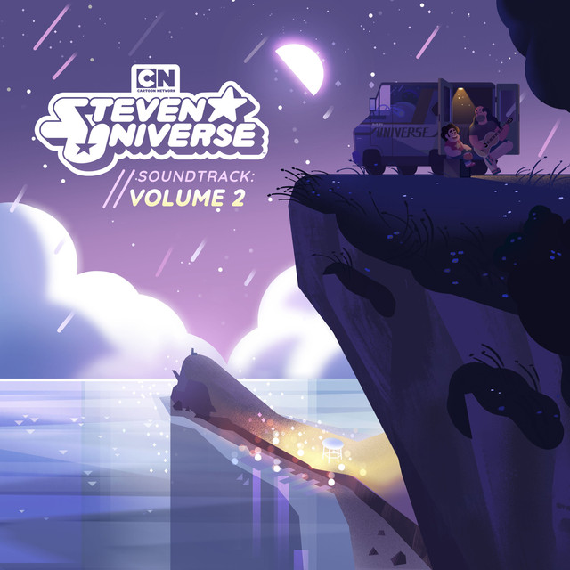 Album cover for Steven Universe, Vol. 2 (Original Soundtrack) by Steven Universe