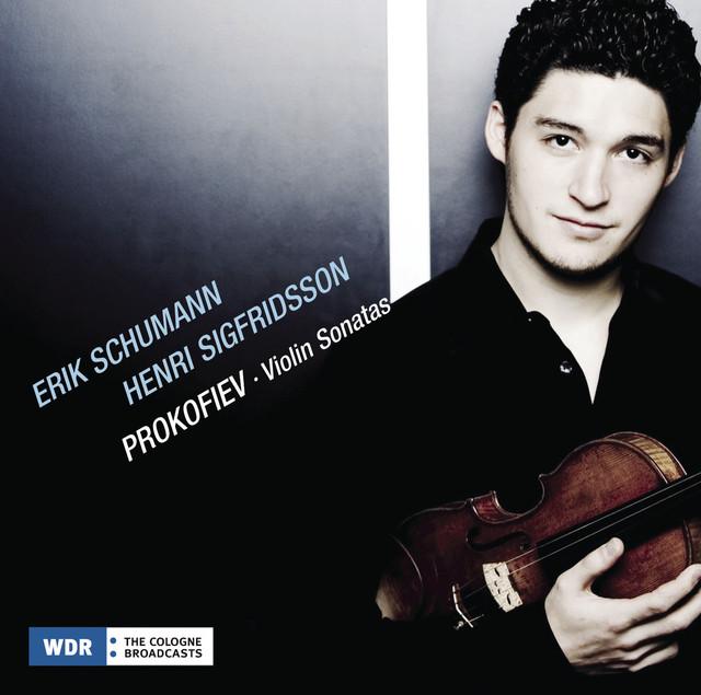 Prokofiev: Violin Sonatas Albumcover