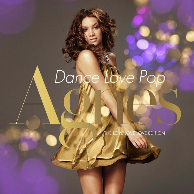Skivomslag för Agnes: Dance Love Pop