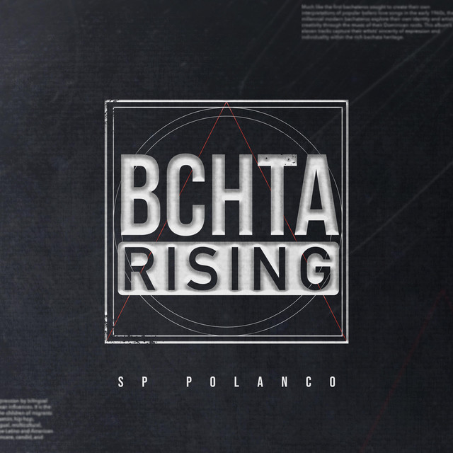 Album cover for Bchta Rising by sP Polanco