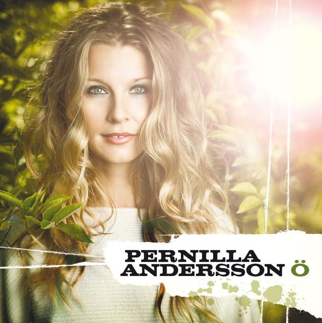 Skivomslag för Pernilla Andersson: Ö