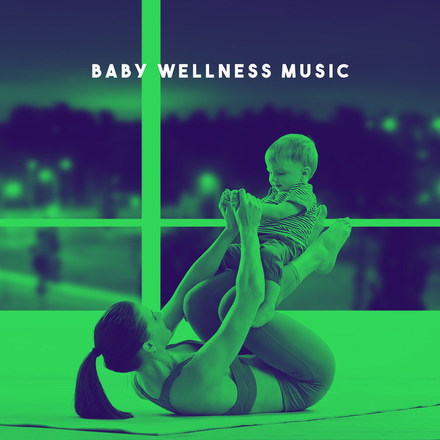 Album cover for Baby Wellness Music by Rockabye Lullaby, Lullabyes, White Noise For Baby Sleep