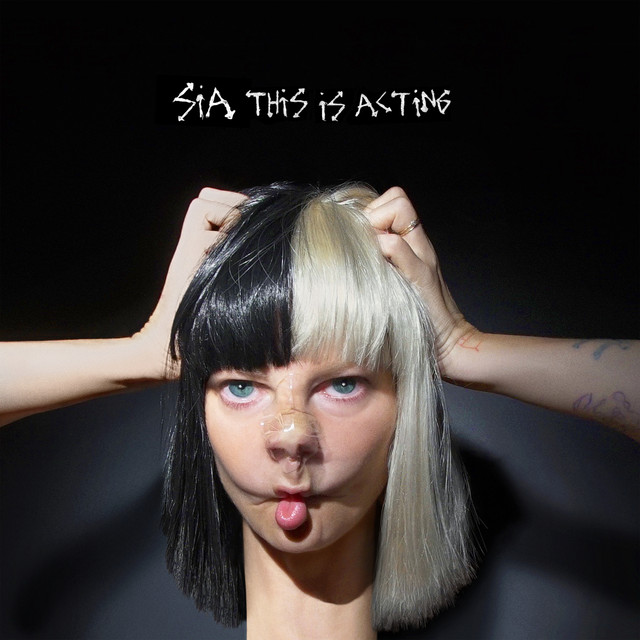 Album cover for This Is Acting by Sia