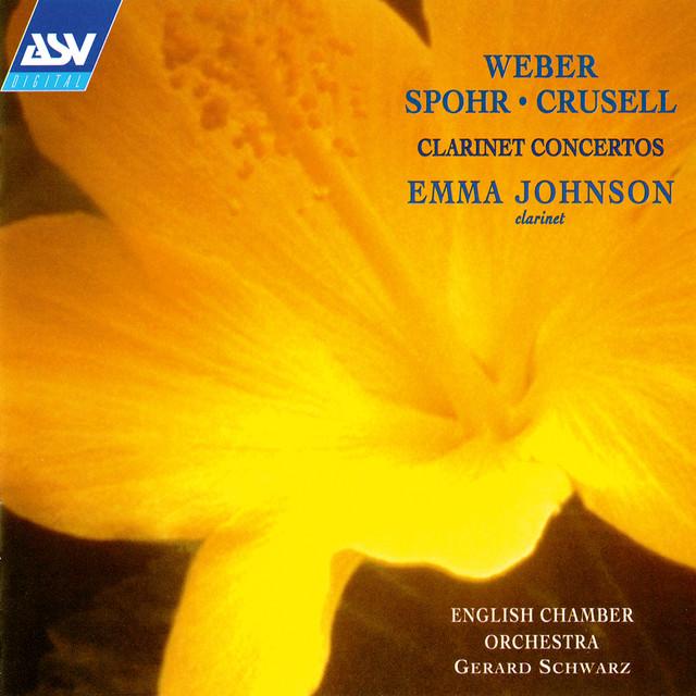 Weber, Spohr & Crusell: Clarinet Concertos Albumcover