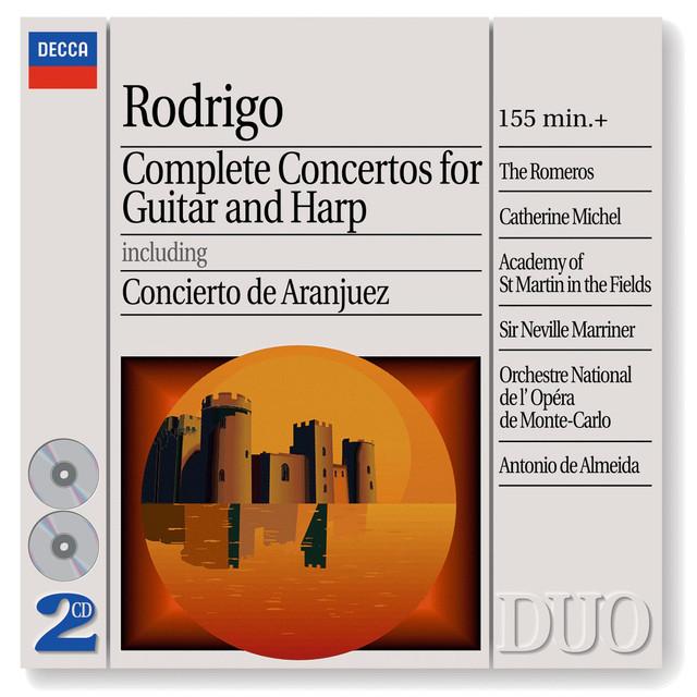 Rodrigo: Complete Concertos for Guitar & Harp (2 CDs)