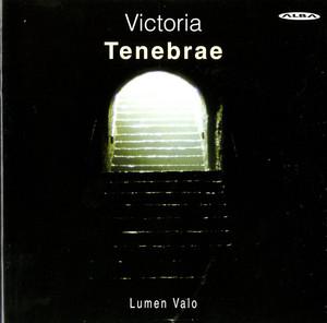 Victoria: Tenebrae Responsories Albumcover