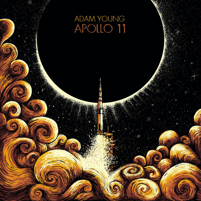 Album cover for Apollo 11 by Adam Young