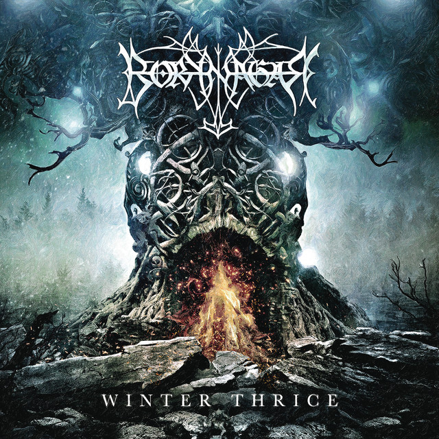 Album cover for Winter Thrice by Borknagar