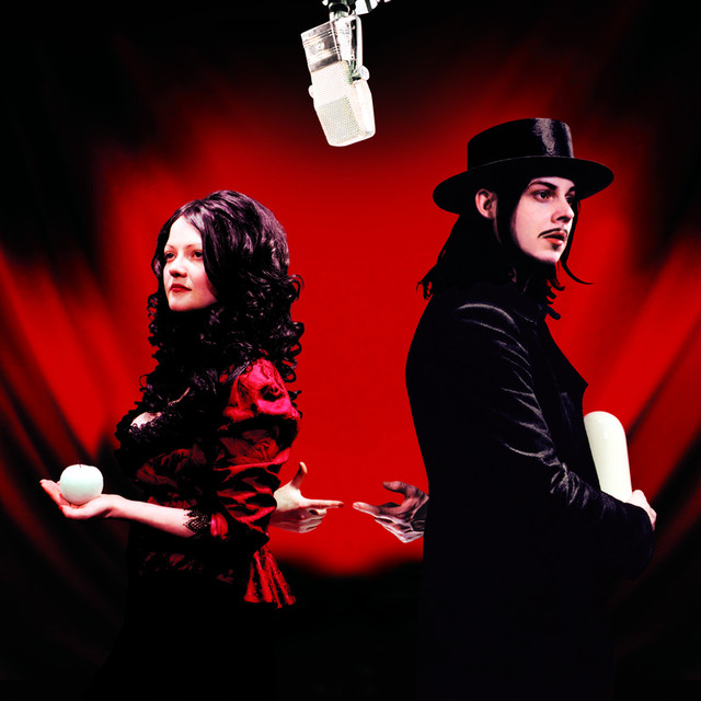 Album cover for Get Behind Me Satan by The White Stripes