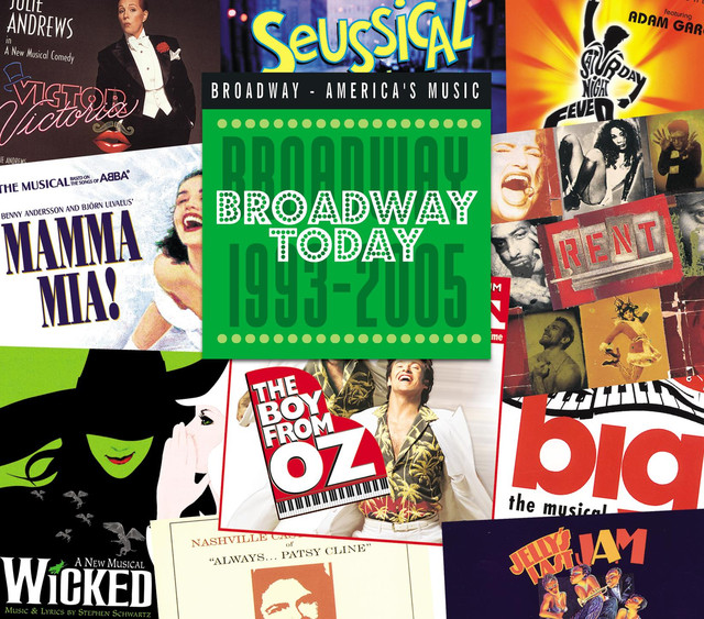 Various Artists Broadway Today: Broadway 1993-2005 album cover