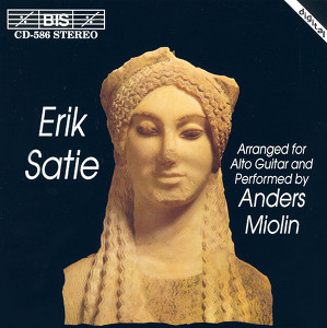 Satie: Piano Music Arranged for Guitar Albumcover