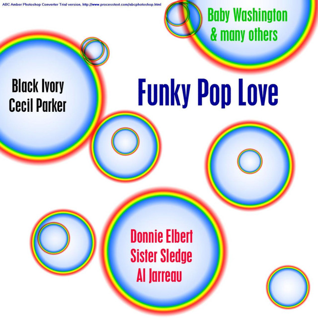 Various Artists Funky Pop Love album cover