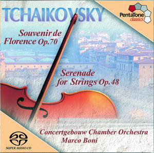 Tchaikovsky: Serenade for Strings / Souvenir De Florence Albumcover