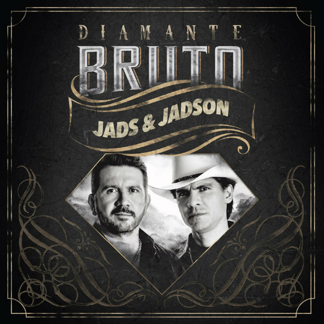 Album cover for Diamante Bruto by Jads & Jadson
