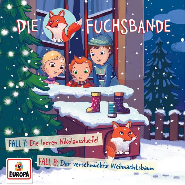 004 - Fall 7: Die leeren Nikolausstiefel - Fall 8: Der verschmückte Weihnachtsbaum Cover