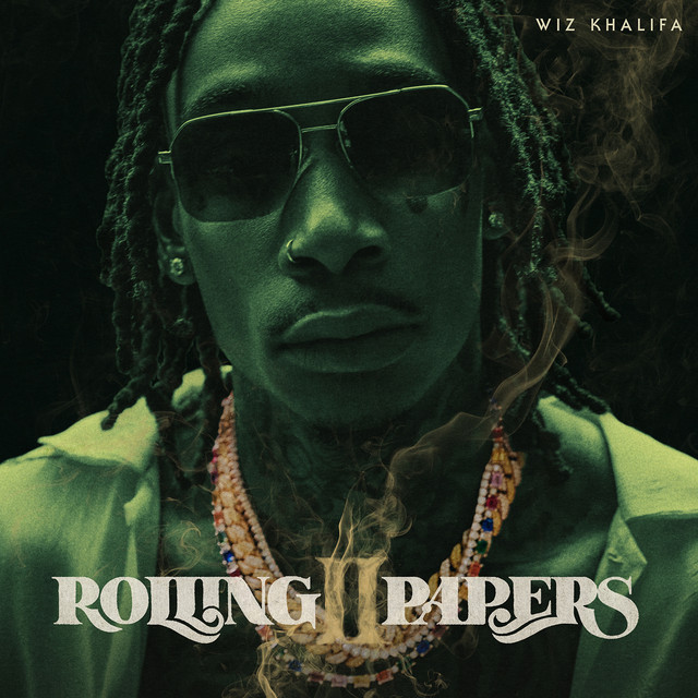 Album cover for Rolling Papers 2 by Wiz Khalifa