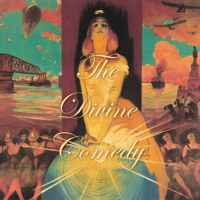 Album cover for Foreverland by The Divine Comedy