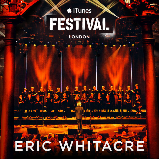 Eric Whitacre Live at iTunes Festival 2014 Albumcover