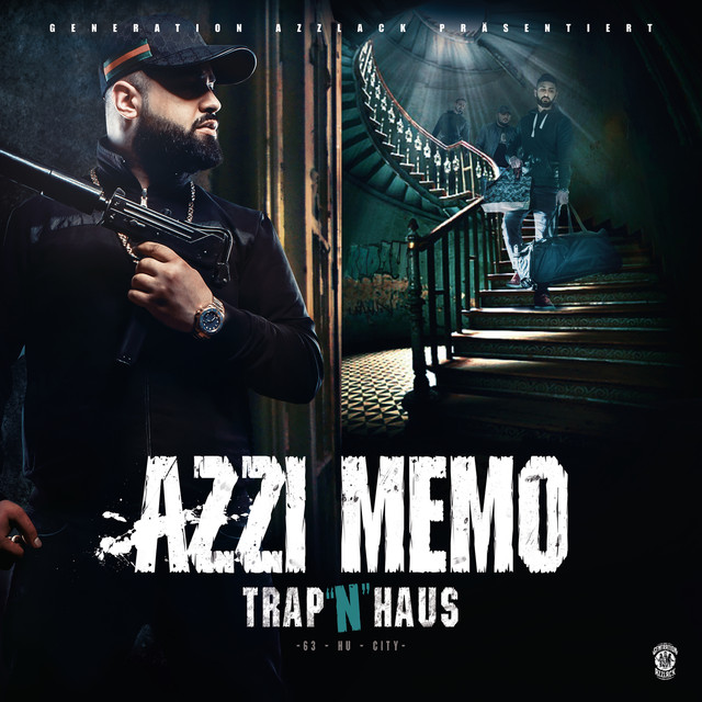 Album cover for Trap 'n' Haus (Deluxe Edition) by Azzi Memo