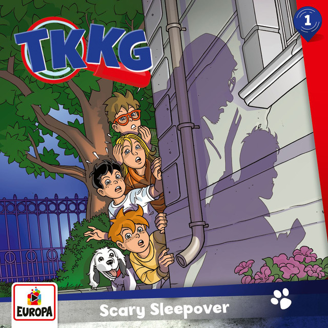 001 - Scary Sleepover Cover