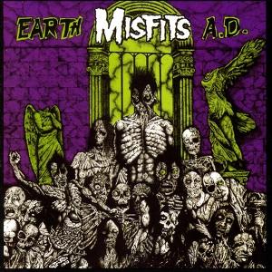 Earth A.D. / Die, Die My Darling Albumcover