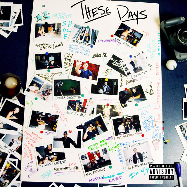 Album cover for These Days by Mike Stud