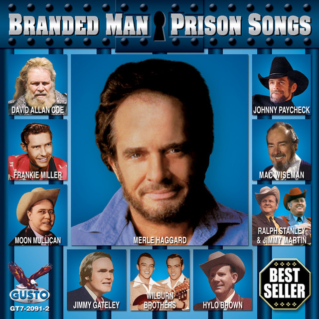 Various Artists Branded Man - Prison Songs album cover
