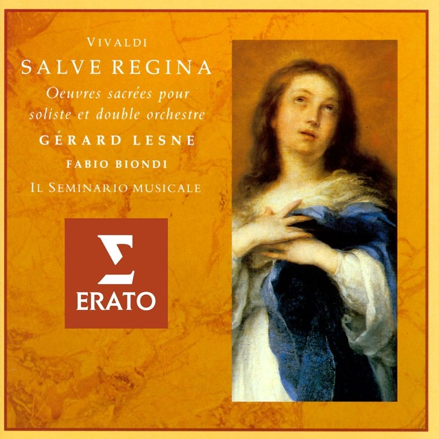 Vivaldi - Salve Regina: Sacred Works for Countertenor and Double Orchestra Albumcover