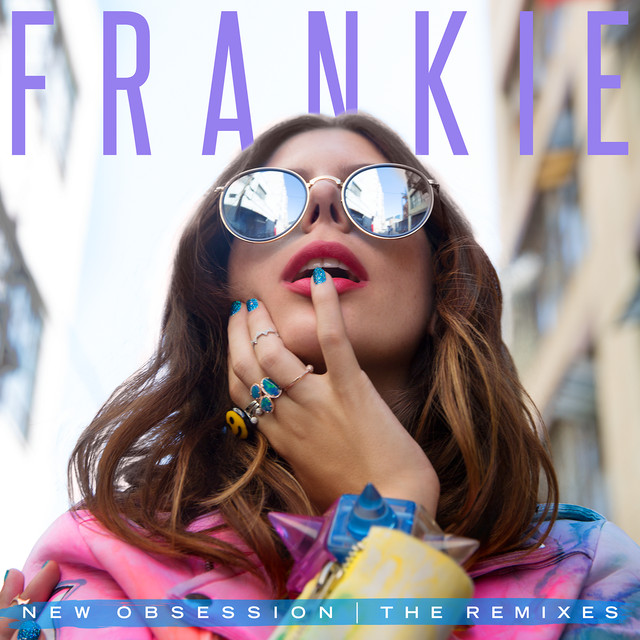 Album cover for New Obsession (The Remixes) by FRANKIE