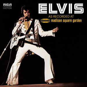 Elvis As Recorded Live at Madison Square Garden Albumcover